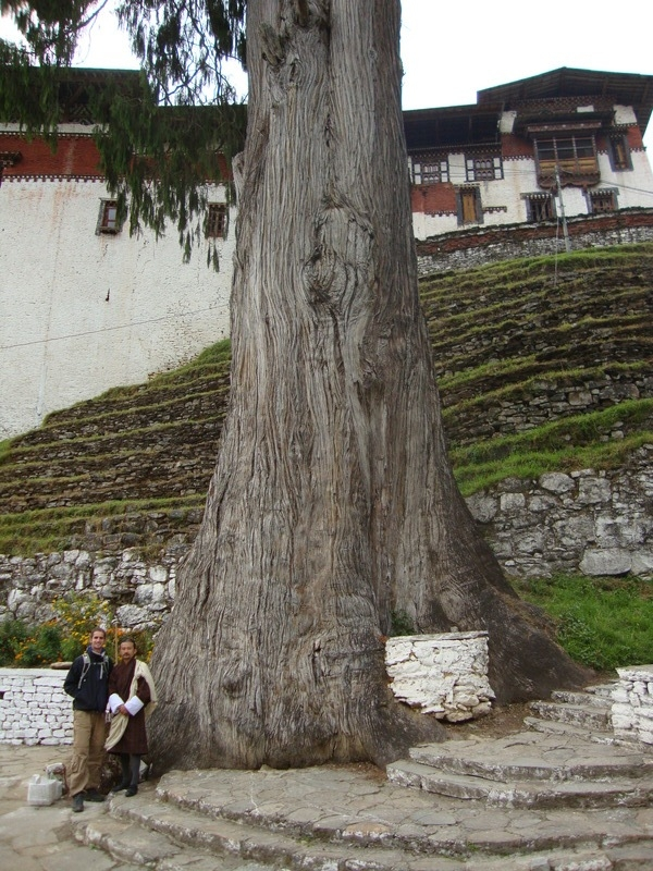 Trongsa Dzong, photo par Steffert Stienstra, 2010-11-21