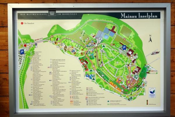 Insel Mainau Karte.Monumentale Bäume Park In Insel Mainau Baden Württemberg Deutschland