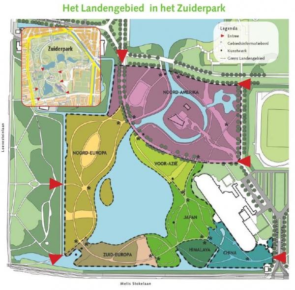 Monumentale Bomen In Het Zuiderpark In Den Haag Zuid Holland